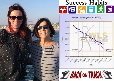 Success Habits - Back On Track display bar