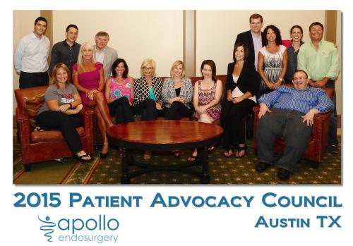 2015 Patient Advocacy Council Apollo Endosurgery