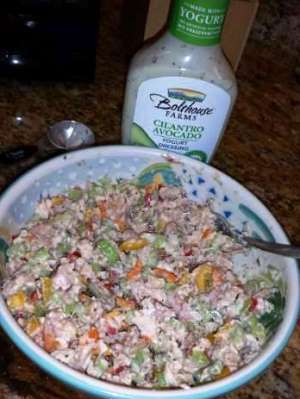 Fifteen Minute Chicken Salad - As YOU Like it