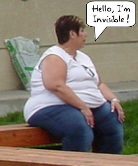 Obese and Invisible