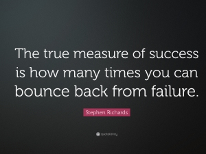 Success - How Do I measure thee?