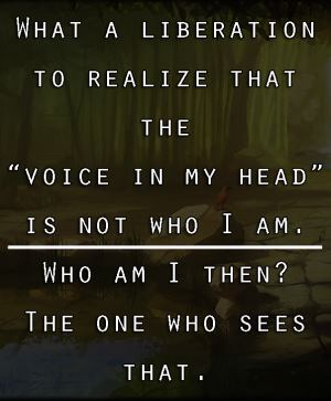 Keep a positive voice in your head